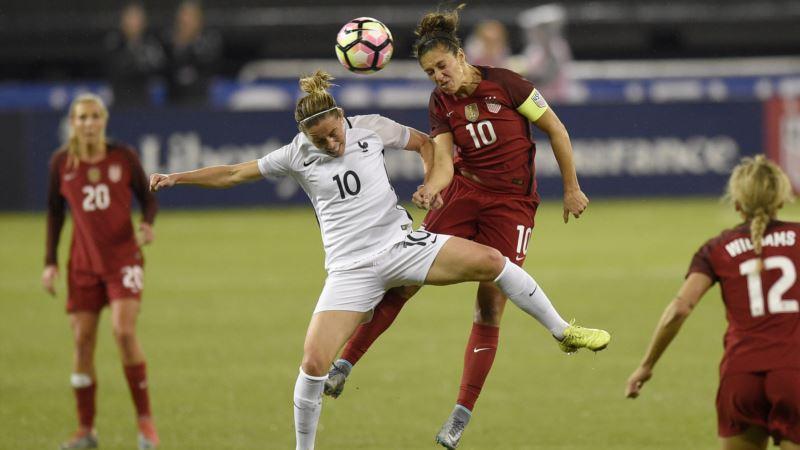 France Upsets US Women's Soccer Team in Washington