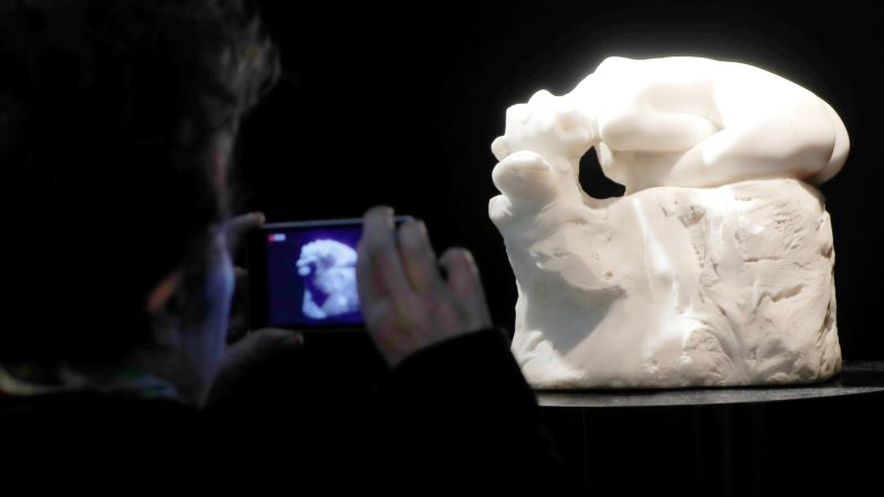Rodin Marble Masterpiece 'Andromeda' Up for Auction in Paris