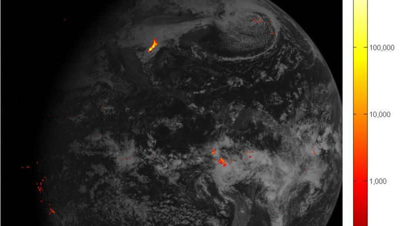 Zap Map: Satellite Tracks Lightning for Better Heads Up