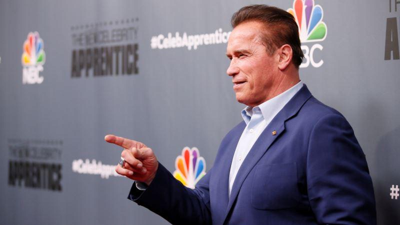 Schwarzenegger Leaves 'Apprentice,' Cites Trump 'Baggage'