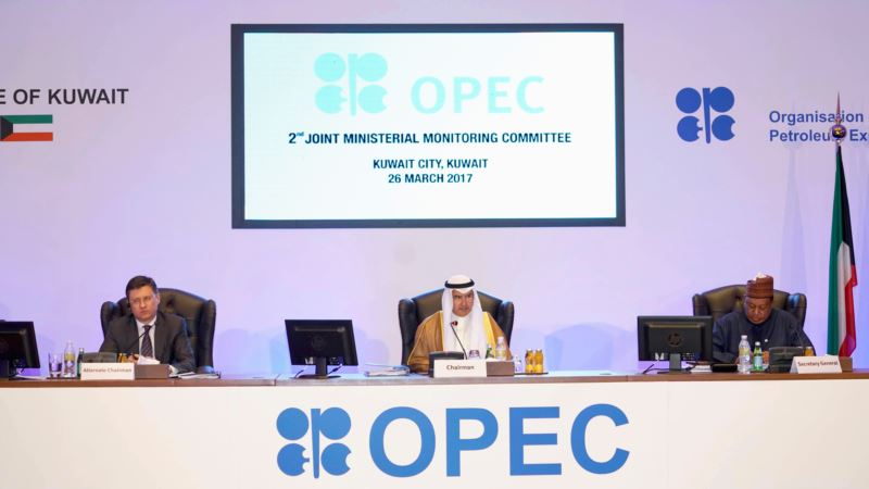 OPEC, non-OPEC to Look at Extending Oil-Output Cut by 6 Months