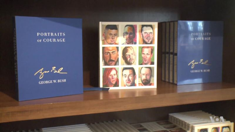 Former President Bush Honors Veterans With 'Portraits of Courage'