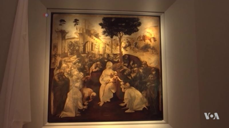 Leonardo Masterpiece Unveiled After Facelift