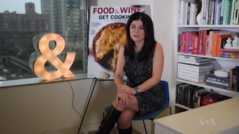 Iranian-American Nilou Motamed Highlights Her Culture in Food & Wine Magazine