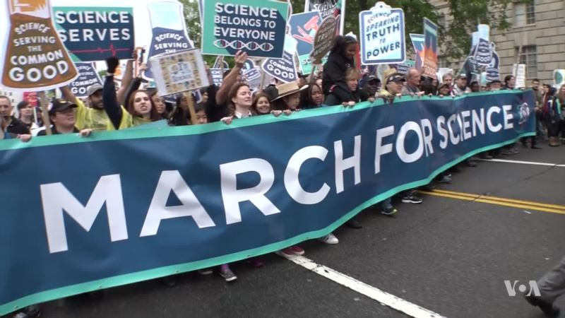 Scientists March in DC