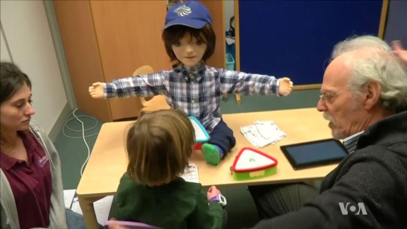 Robot Helps Autistic Kids Communicate