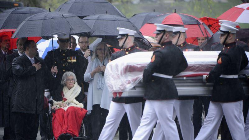 Astronaut John Glenn Laid to Rest at Arlington National Cemetery