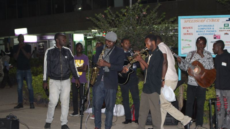 Former Street Boy Jazzing Up Nairobi Streets with His Saxophone