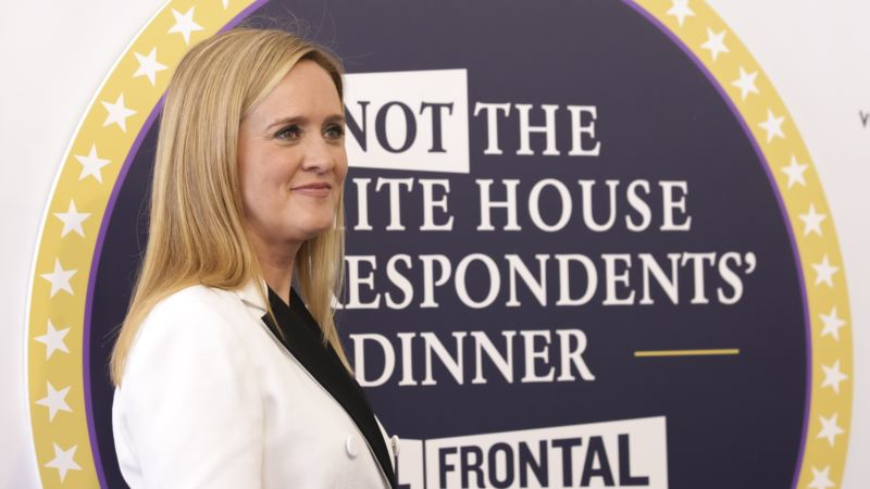 Late-night TV Host Samantha Bee's Show Briefly Upstages Correspondents' Dinner