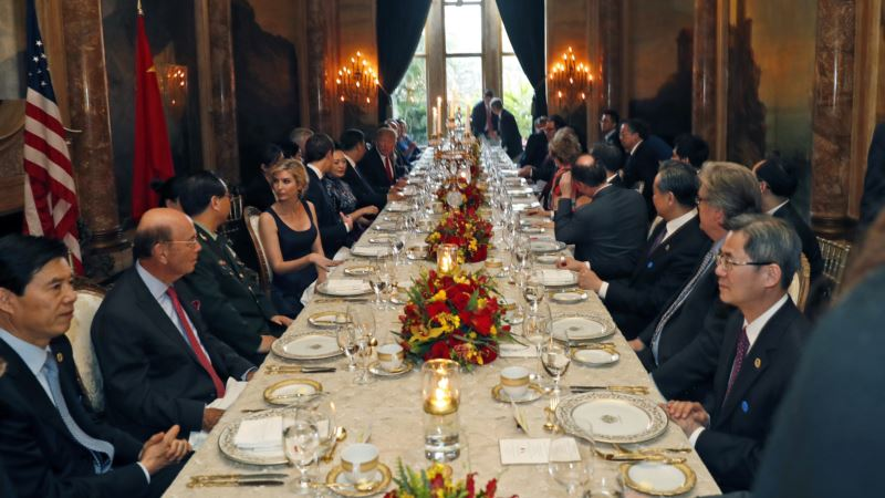 Trump Hosts Foreign Dignitaries at His Own Private Resort