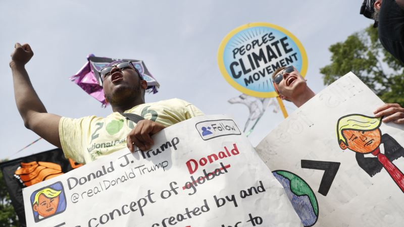 Environmentalists March in Washington, Hundreds of Other US Cities