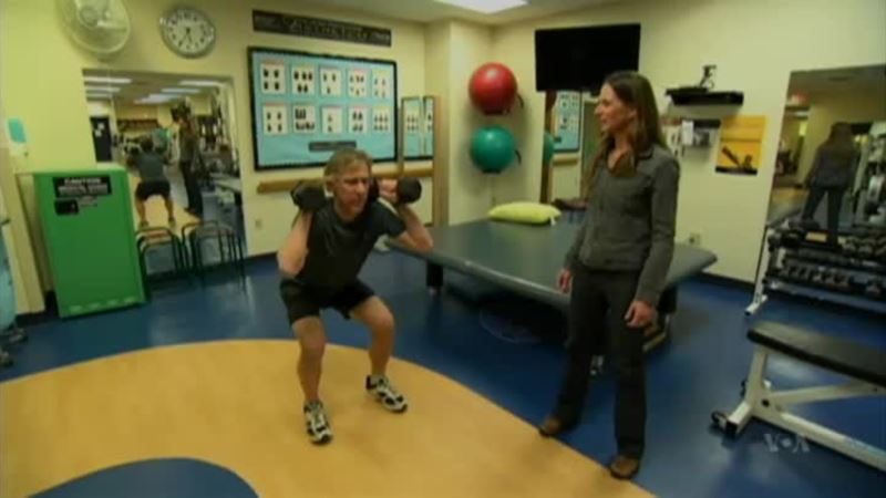 Study Says Hitting the Weights, Jumping, Could Help Bone Density