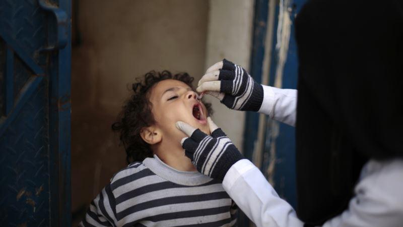 Nearly 5M Children in War-torn Yemen Get Polio Vaccine