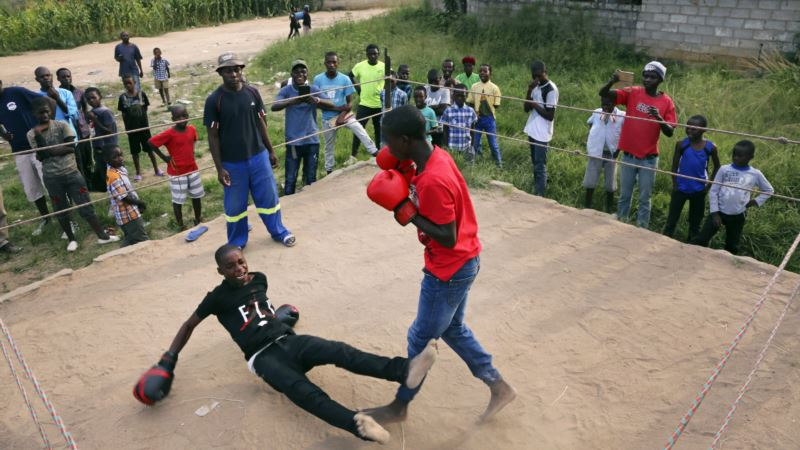 In Zimbabwe, Boys Offered Boxing Instead of Despair