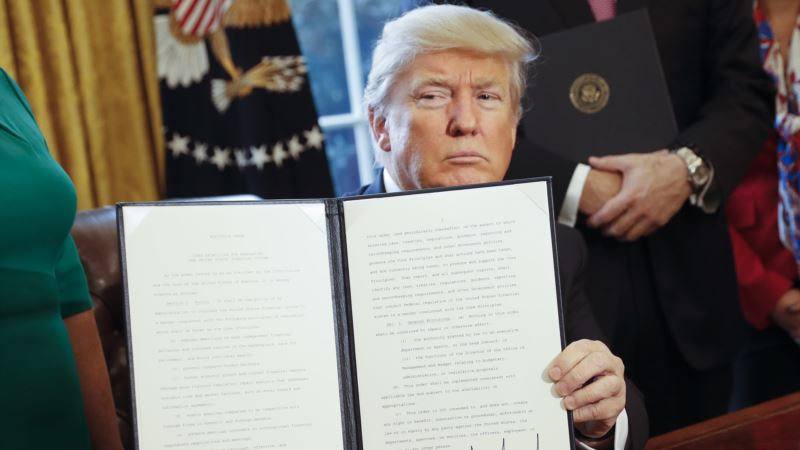 Trump Takes Aim at Trade Practices
