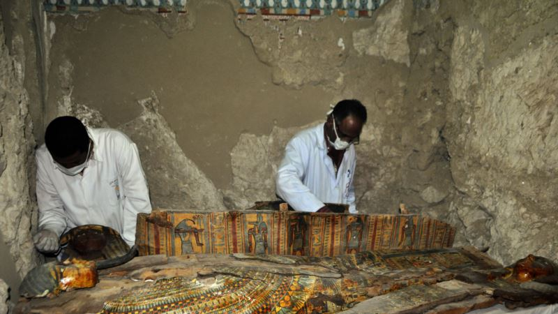 Mummies and Statues Part of Major New Find Near Luxor