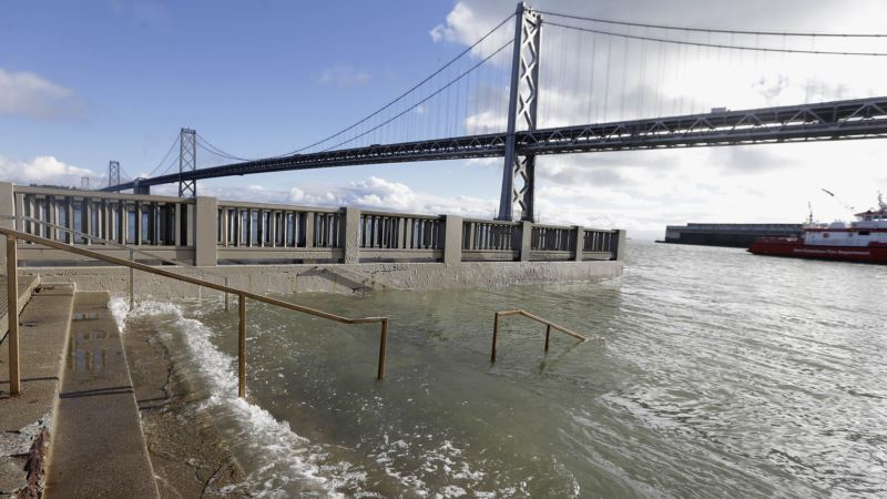 California Says Oceans Could Rise Higher Than Thought