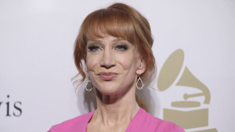 Trump Admonishes Comedian Kathy Griffin for Posting Gruesome Mock Image of Him