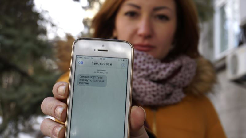 Sinister Text Messages Reveal High-tech Front in Ukraine War