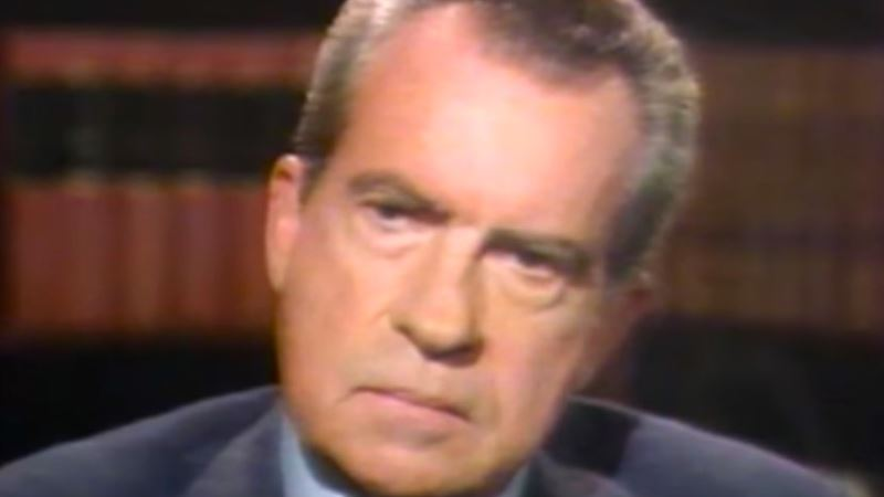 Nixon's Famed TV Sitdown with David Frost Aired on This Day in '77
