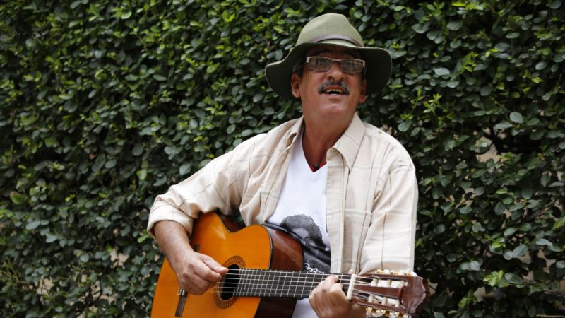 Colombia's Famous Guerrilla Singer Searches for a New Tune