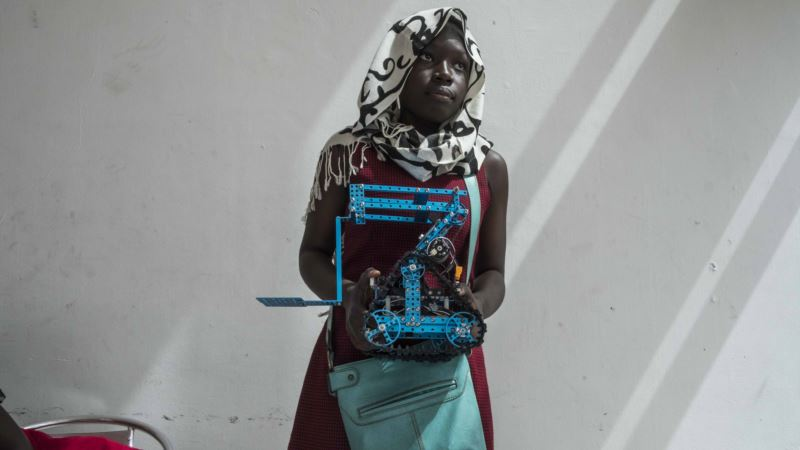 Robotics Contest for Youth Promotes Innovation for Economic Growth in Africa