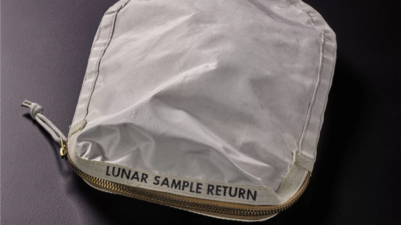 After Legal Battle, Apollo 11 Moon-rock Bag Up for Auction