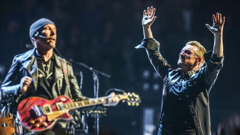 StubHub: U2 Top-selling Live Act for US Summer 2017