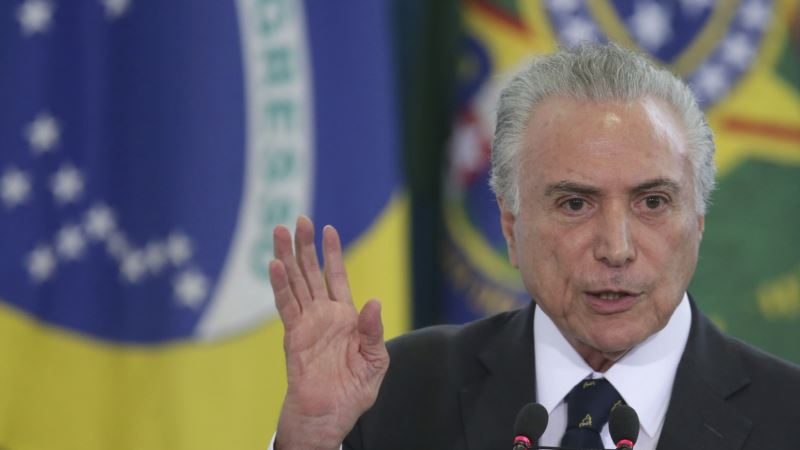 Temer: Brazil Economy 'Breathing' as New Port Rules Enacted