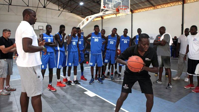 NBA Opens Africa Academy in Push for International Recruits