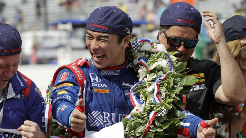 Takuma Sato First Japanese Driver to Win Indianapolis 500