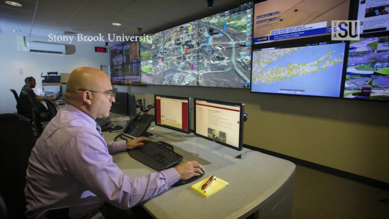 US Campus Uses High-tech Center to Keep Students Safe