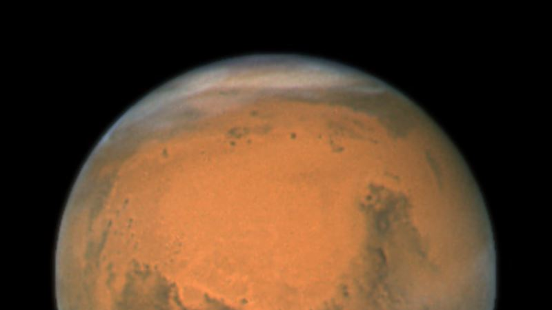 Heavy Rain May Have Once Fallen on Mars
