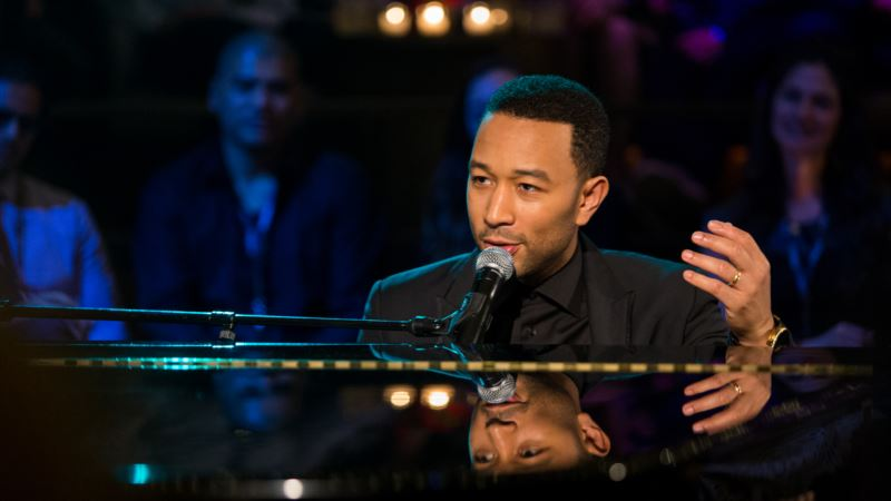 John Legend Named 1st Recipient of New Social Justice Award