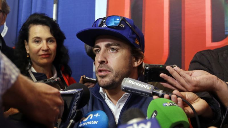 Formula 1 Champion Alonso Looks for Success in First Indy 500