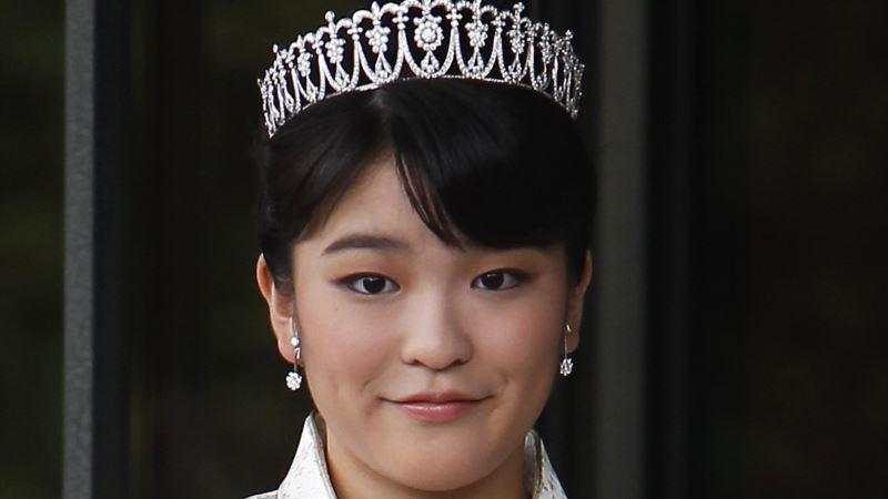 Japan's Princess Mako to Get Married, Report Says