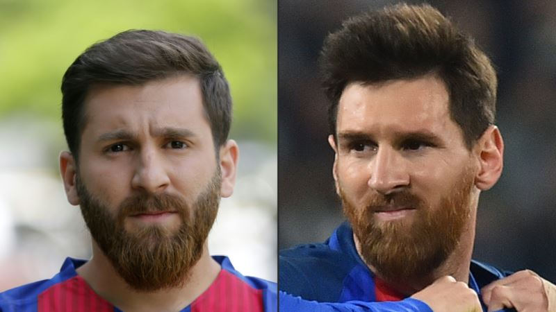 Meet the Iranian Who Looks Like Lionel Messi