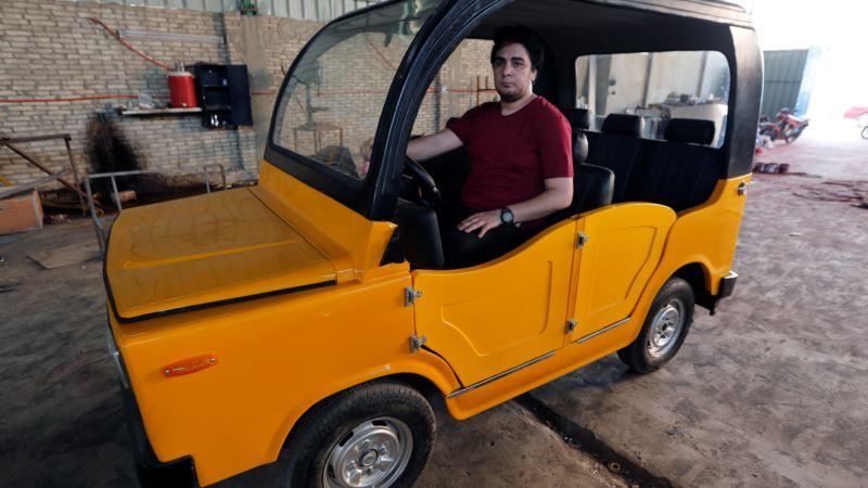 Egypt's Auto Rickshaw Gets New, Home-grown Challenger