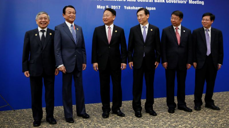 Japan, China, S. Korea Pledge to Resist Protectionism