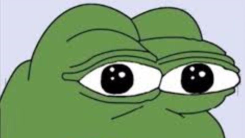 Controversial Cartoon Frog Croaks