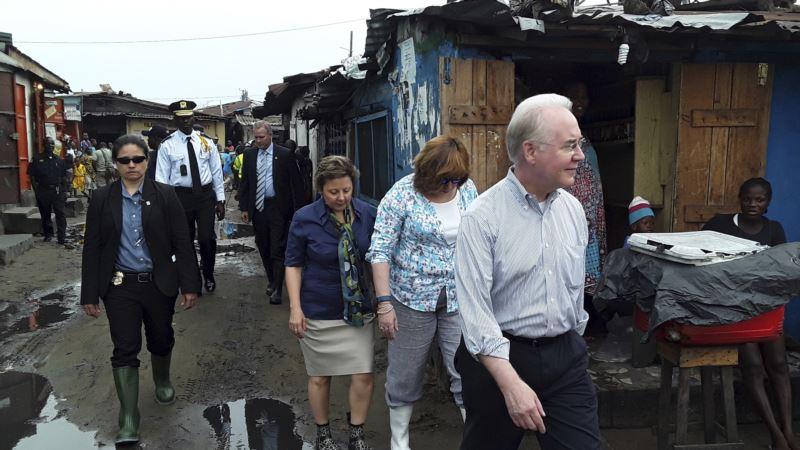 US Health Secretary Visits Liberia, Where Ebola Killed 4,800