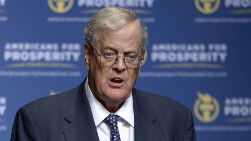 Kochs Unveil Campaign to 'Jolt' Stalled Tax debate