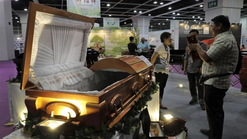 At Hong Kong Trade Fair, Funerals Go Green, High Tech