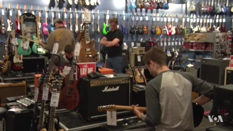 Store Allows Customers to Play Guitars Even if They Don't Buy Them