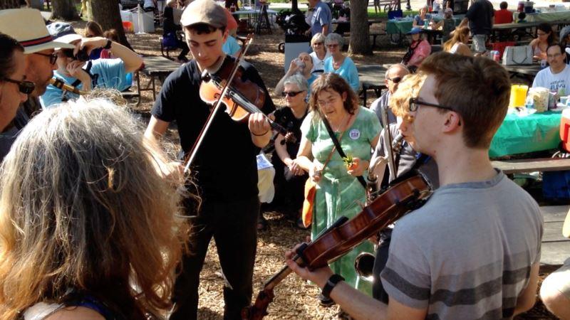 Music, Mushrooms and More at Maryland Folk Festival