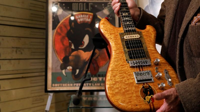 Jerry Garcia's Guitar Sells for $1.9 Million, Will Benefit Southern Poverty Law Center