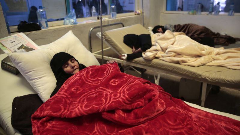 UN: Cholera Cases in Yemen Could Top 300,000 by End of August