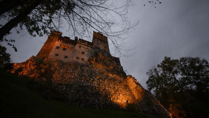 Romania: Protective Mama Bear, Cubs Cut off Dracula's Castle