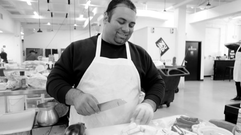 Refugee Chef Builds His Future With Flavors From His Past