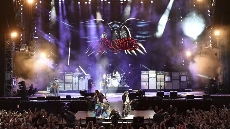 Aerosmith's Nearing 50 Years But Plans to 'Keep Going'